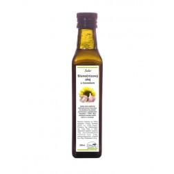 Slnečnicový olej s cesnakom 250 ml