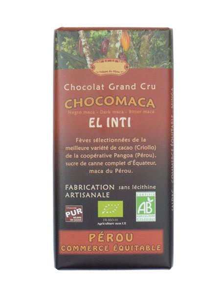 Bio hořká čokoláda s Maca 56% kakaa 100g EL INTI
