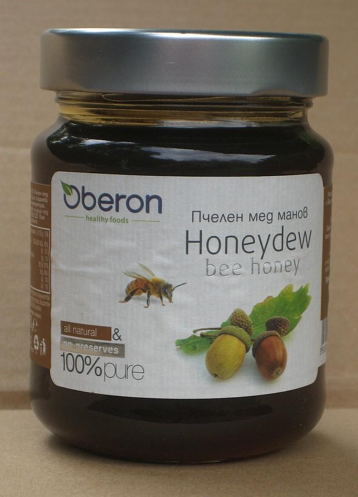 Dubový med manový 370 ml