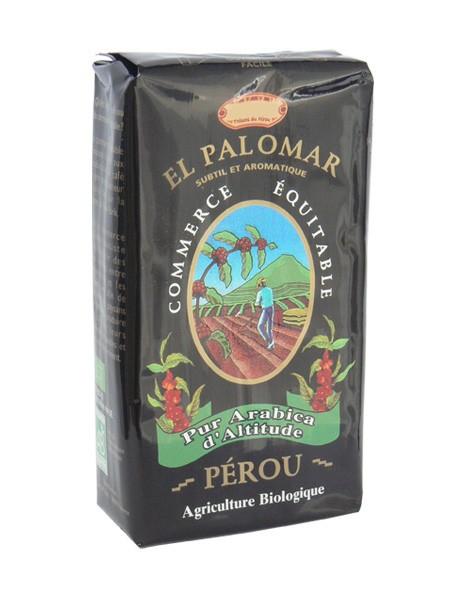 BIO zrnková káva EL PALOMAR 100% arabica 250 g