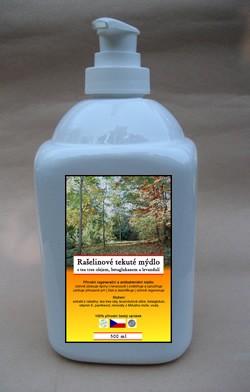 Rašelinové tekuté mydlo 500 ml s dávkovačom