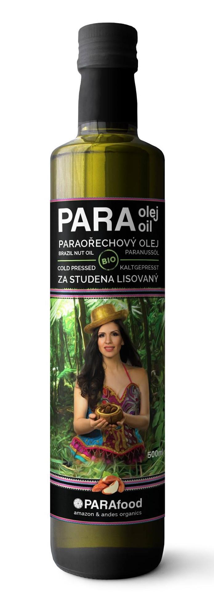 Paraořechový olej