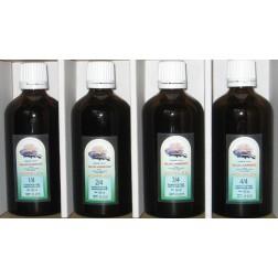 Glucamedic komplex extrakt 4x60 ml